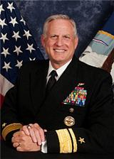 RADM Dee L. Mewbourne, Commander, Military Sealift Command
