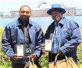 2017 Tradesperson of the Year Award Winners Harold Martin & Anthony Banks