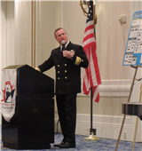 RADM Shannon Speaks to the VSRA General Membership