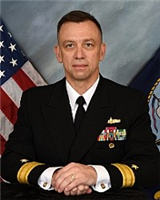 RDML James Downey, Commander, Navy Regional Maintenance Center